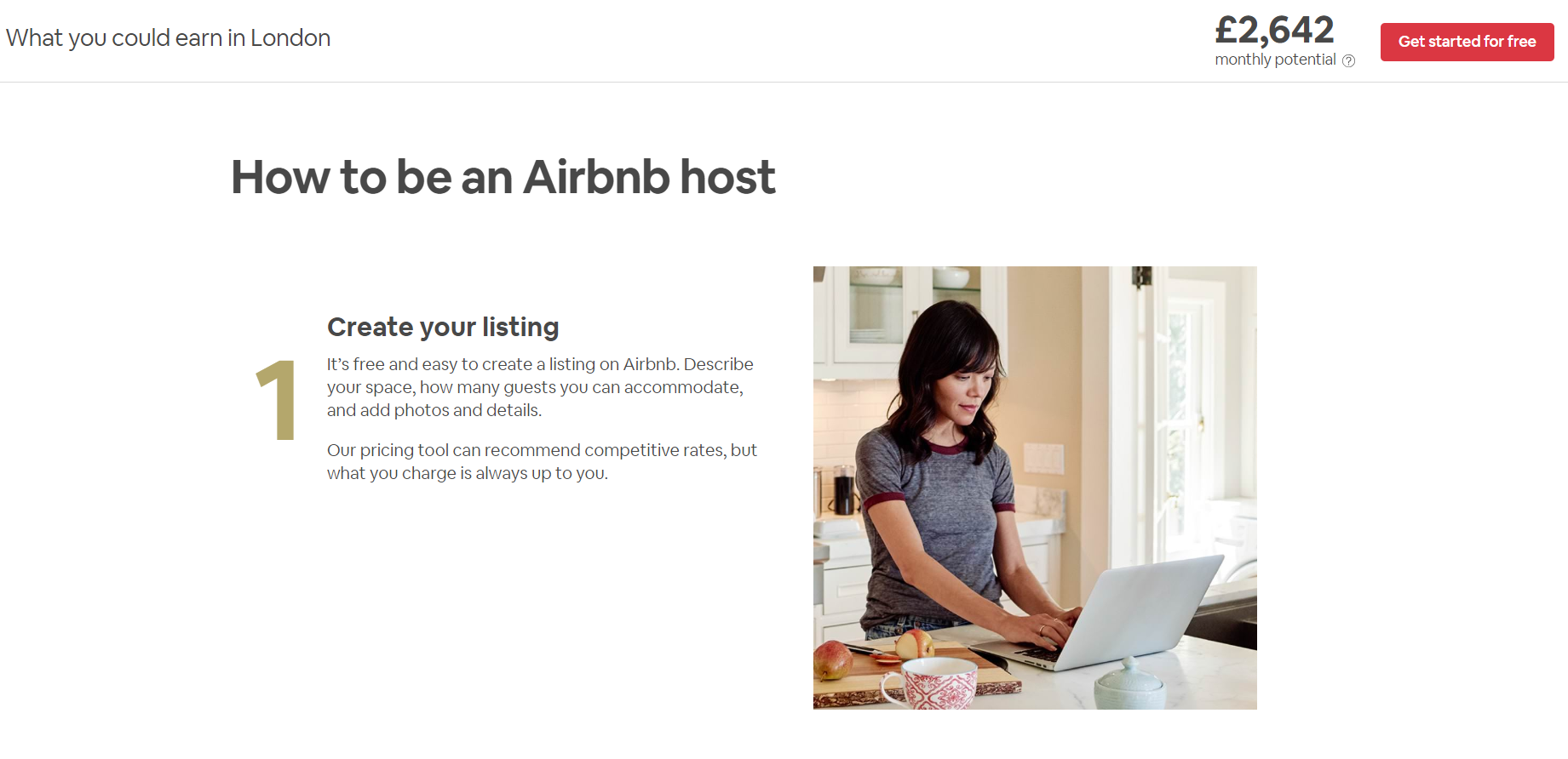 AirBNB Landing Page 3 - Build the Perfect PPC Landing Page: Best Practice & Examples