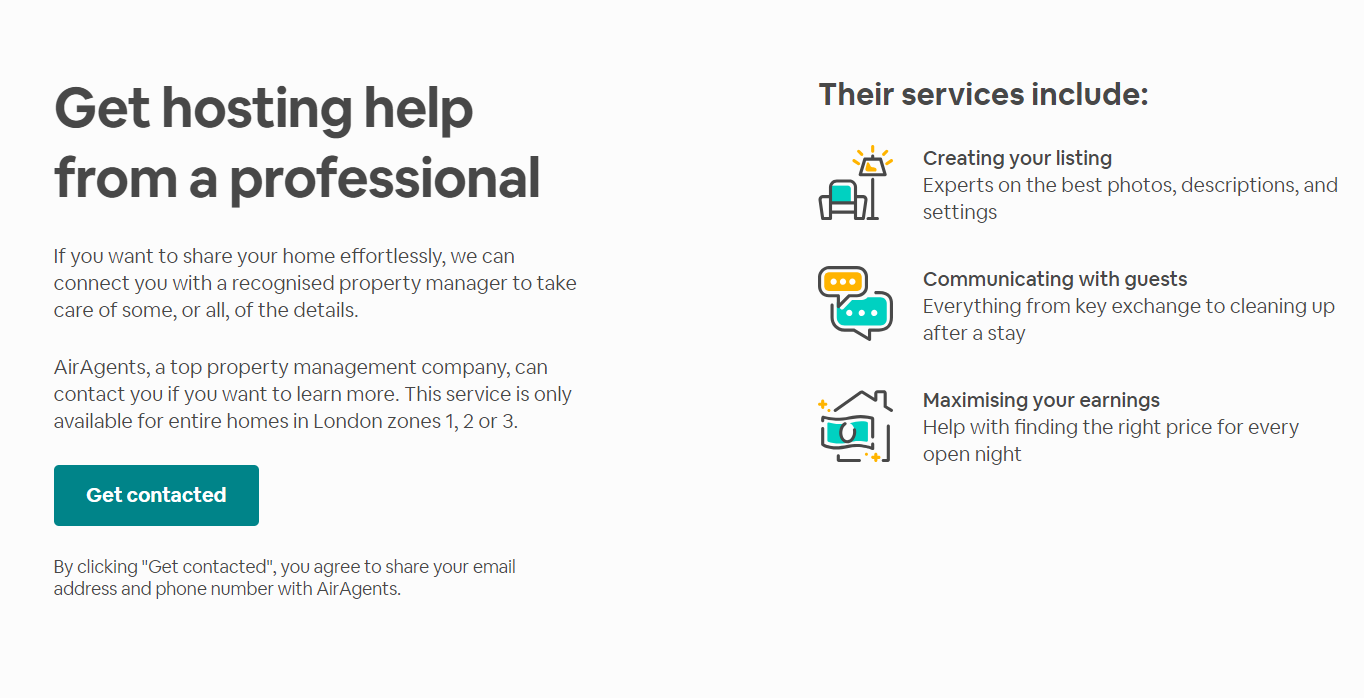 AirBNB Landing Page 4 - Build the Perfect PPC Landing Page: Best Practice & Examples