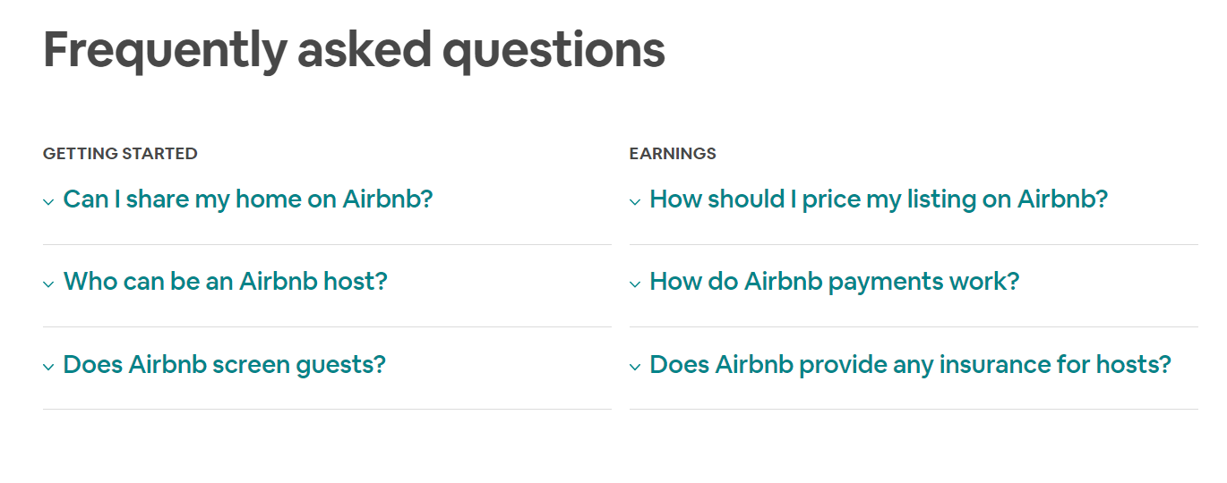 AirBNB Landing Page 6 - Build the Perfect PPC Landing Page: Best Practice & Examples