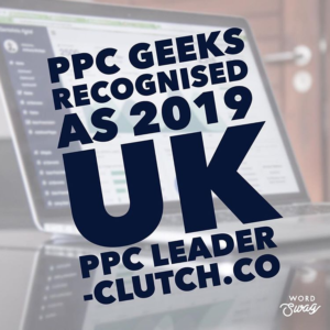 PPC Geeks 2019 UK PPC Winner Feb 2019 300x300 - Best UK PPC Agency Award for PPC Geeks in 2019