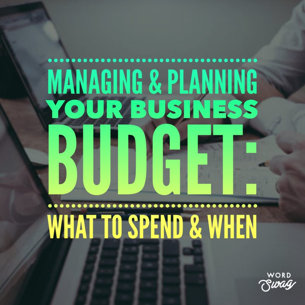 PPC Geeks Blig Managing Planning Your Business Budget What to Spend When 1024x1024 - Sarah S