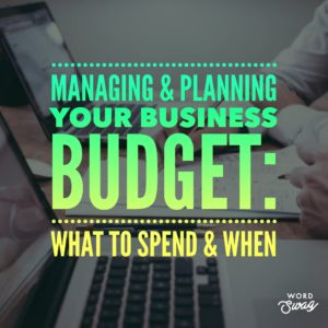 PPC Geeks Blig - Managing & Planning Your Business Budget What to Spend & When