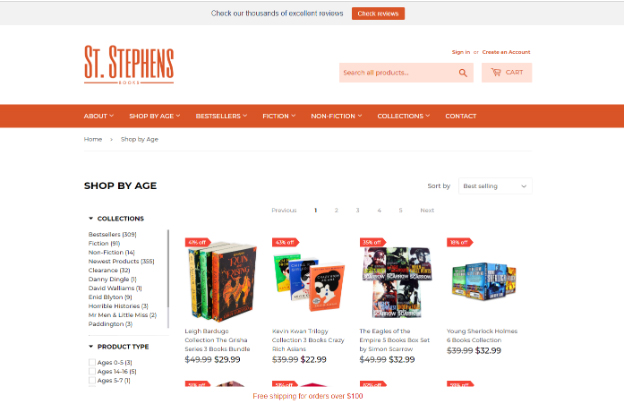 Stephens Books - Case Studies