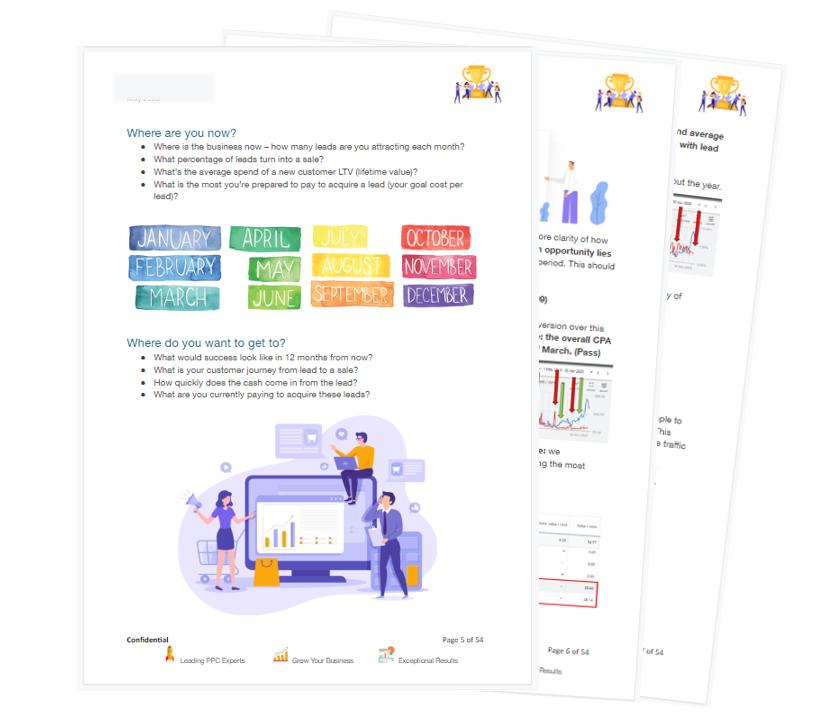 Bing Ads Report by PPC Geeks - Free Bing Ads Audit