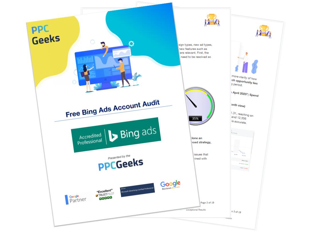 Free Bing Ads Account Audit Report - Free Bing Ads Audit