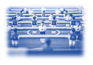 Image showing Table Football - this is to show your business is a Team Effort - and taking the time to plan and execute what pain points your business might have will mean you can stay one step ahead of the changing business lanscape