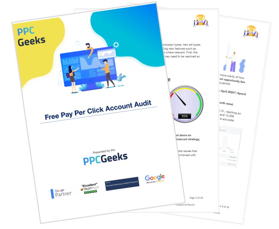 PPC Geeks Free Pay Per Click Audit Oct 2020 - Free Pay Per Click Ads Audits