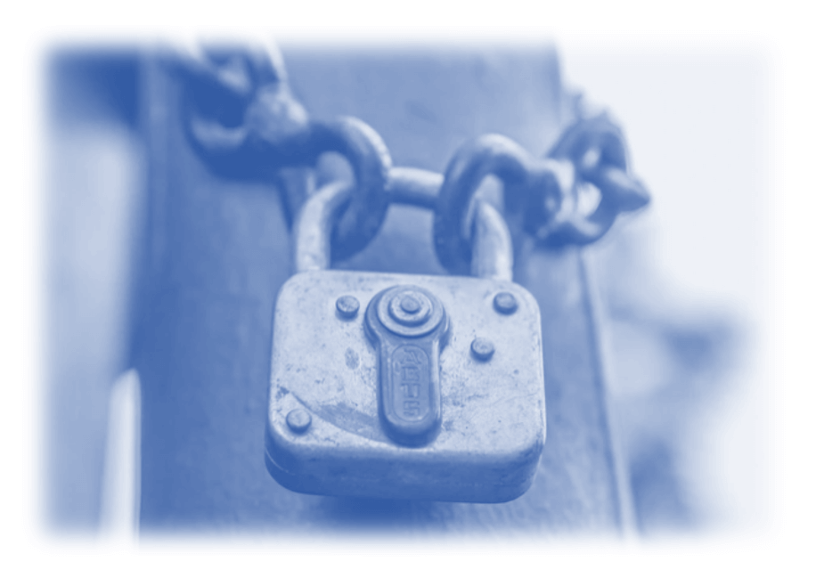 Image showing a padlock to make reference to Google locking away valuable search data