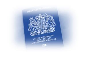 Image showing a passport as you will need to provide Google identification of who you are in it new release