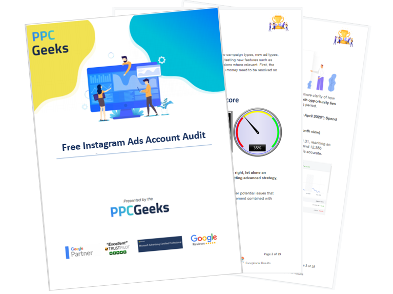 Free Instagram Ads Audit first three pages - Instagram Ads