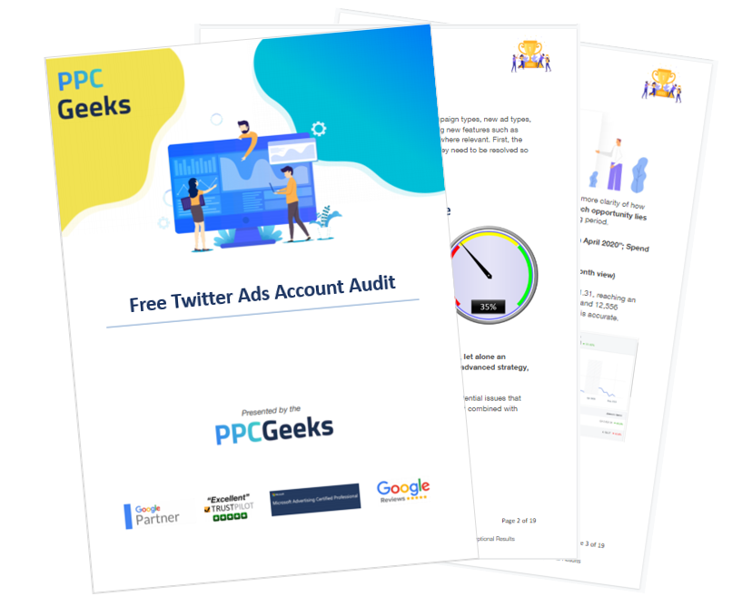 Twitter Ads Audit Pages 1 through 3 May 2021 - Free Twitter Ads Audit
