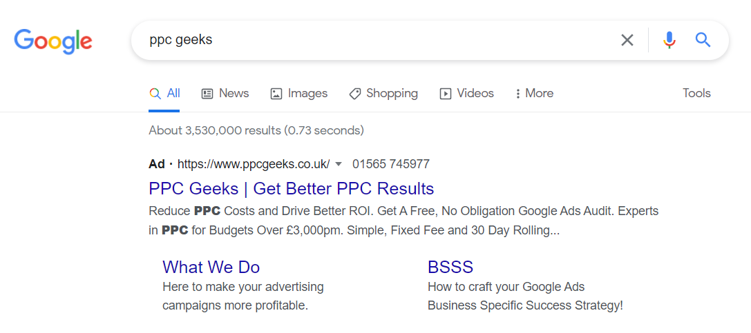 Image showing Search Ads on Google Ads - Search Ads