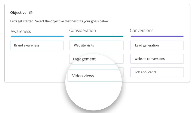 Video ads targeting example on LinkedIn - LinkedIn Ads