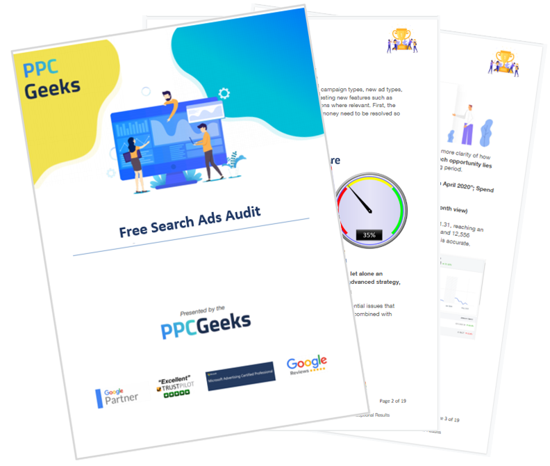 Free Search Ads Audit - Search Ads