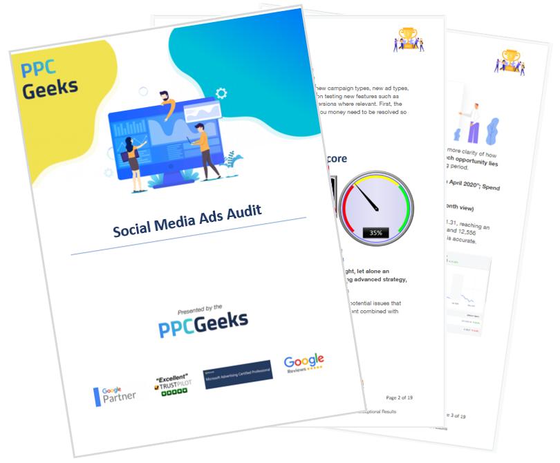 Free Social Media PPC Ads Audit PPC Geeks - Social Ads