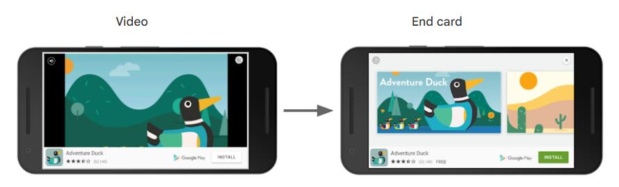 Image showing Reward Based Video Ads google example PPC Geeks - App Ads